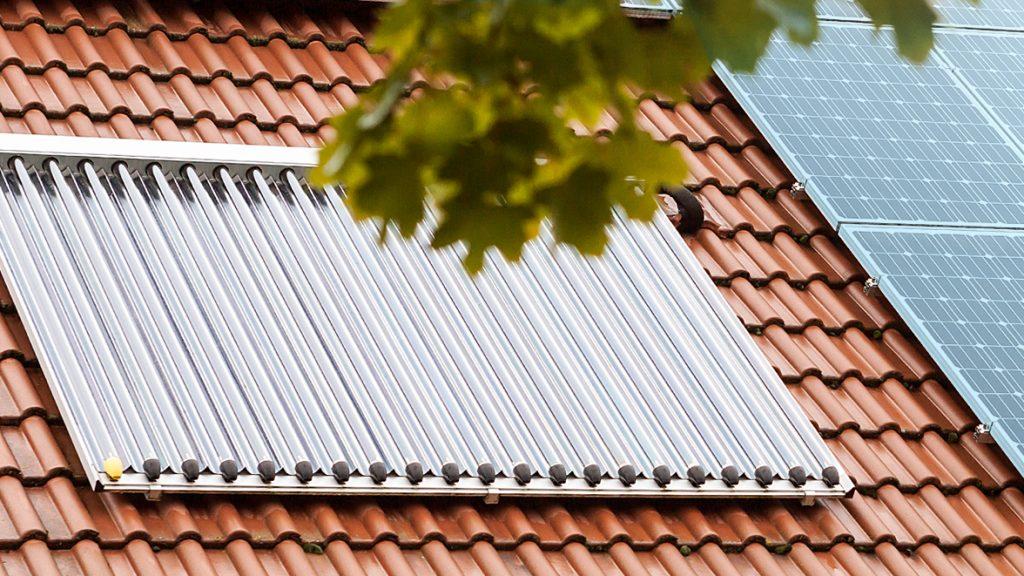Erneuerbare Energien in Form von Solarthermie
